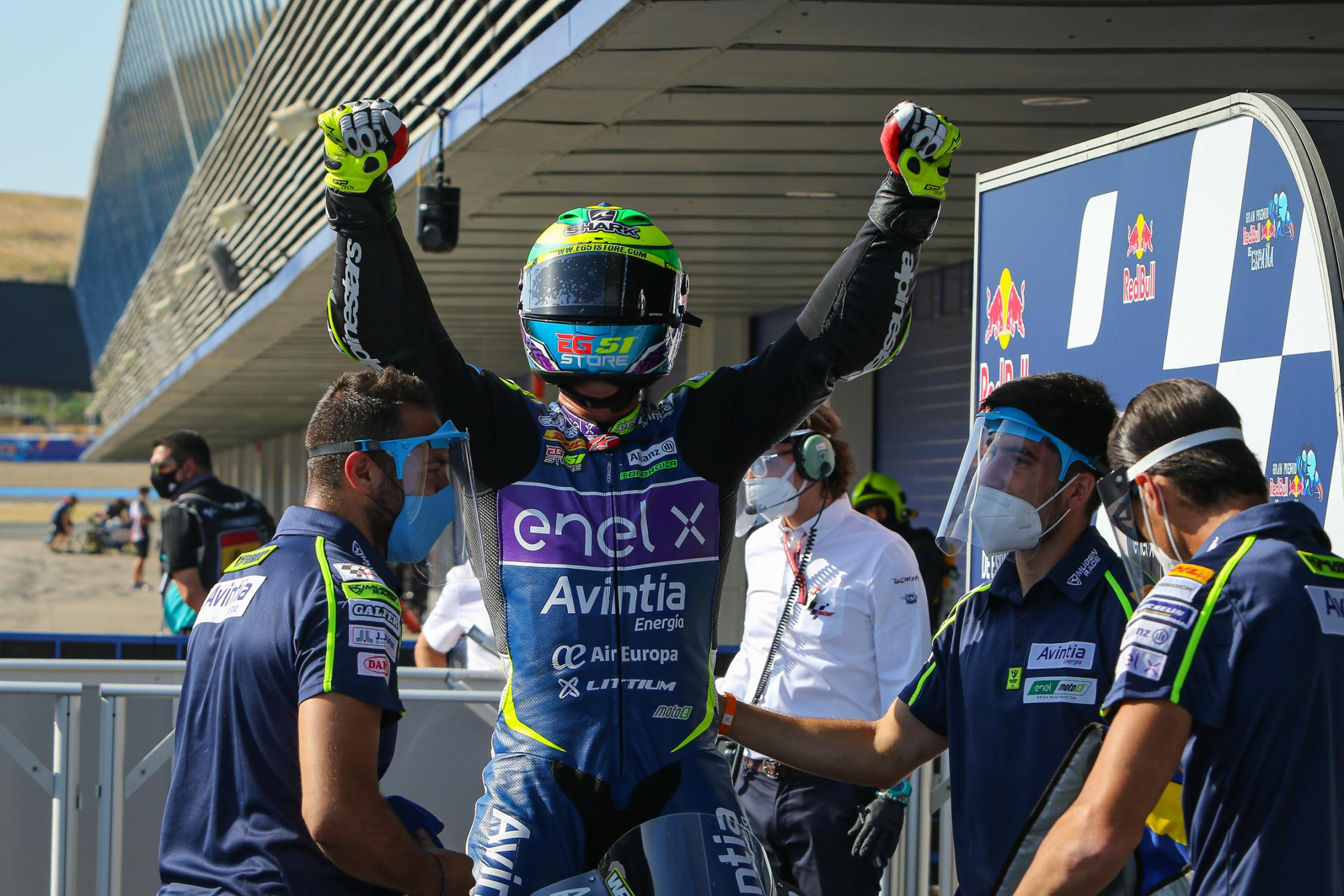 """Featured image for """"SpanishGP: Eric Granado storms to opening 2020 MotoE win"""""""