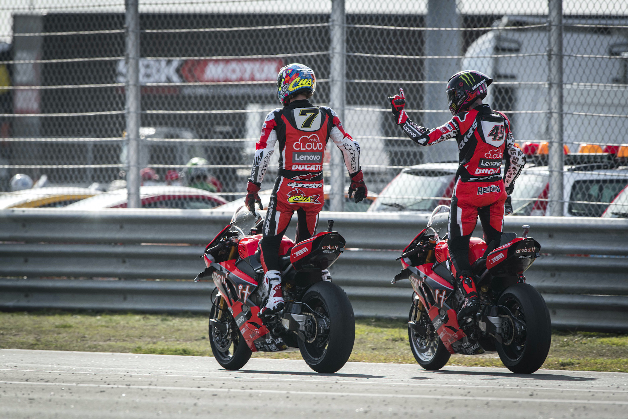 "Featured image for ""WSBK: Davies Wins Final Race of 2020"""