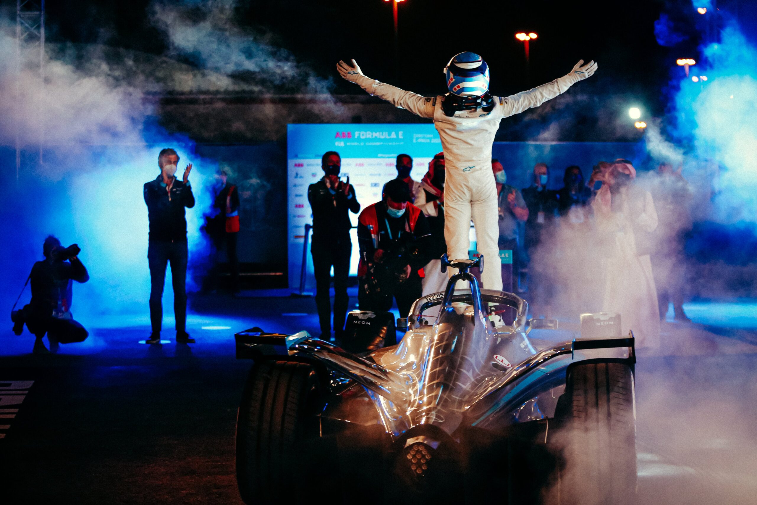 """Featured image for """"Formula E: Nyck de Vries scores maiden victory in the first race of the season"""""""