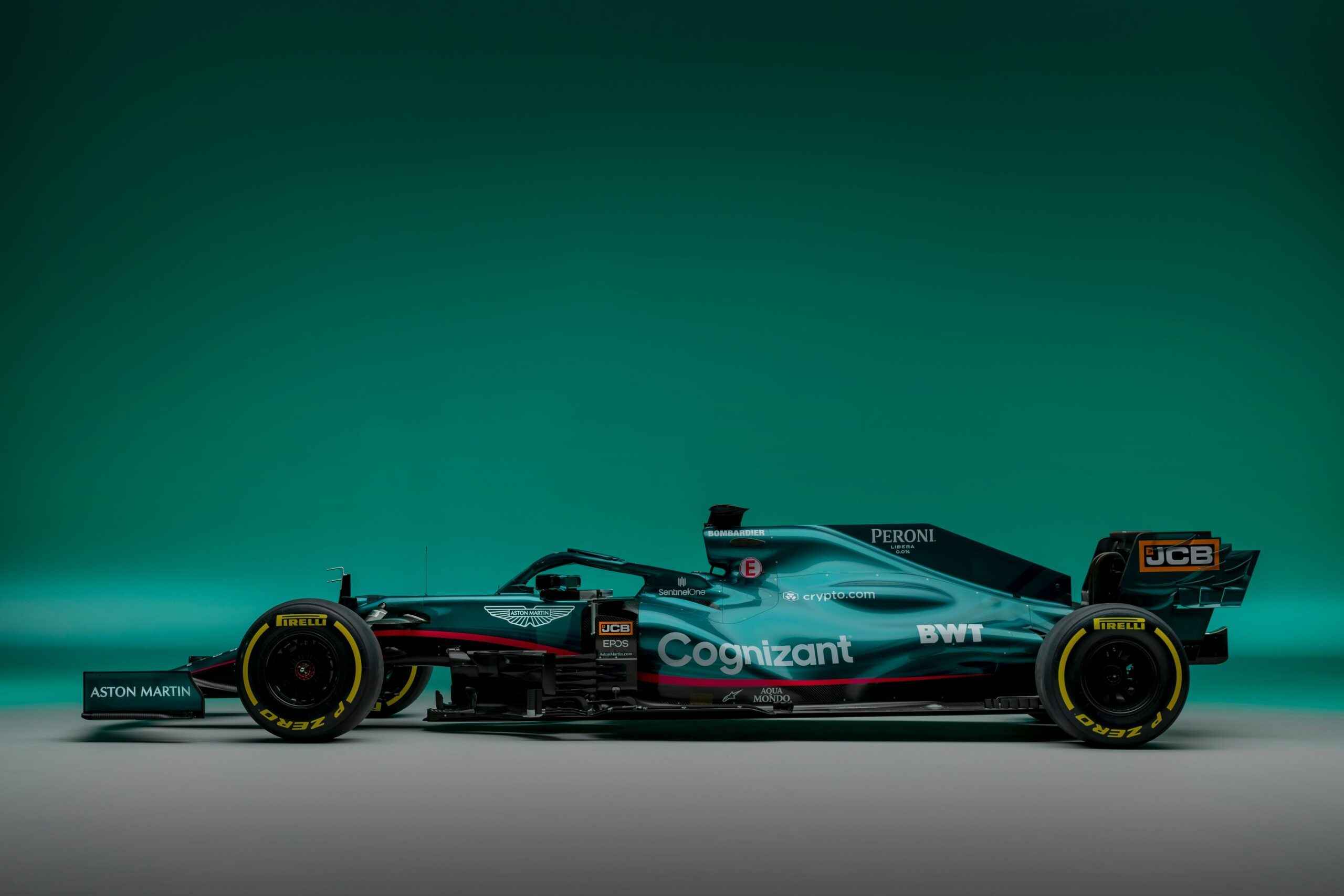 """Featured image for """"F1: Aston Martin reveal striking green livery"""""""