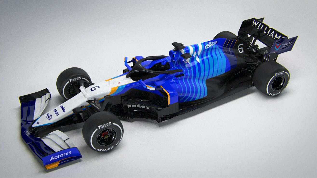 """Featured image for """"F1: Williams reveal 2021 contender featuring retro livery"""""""