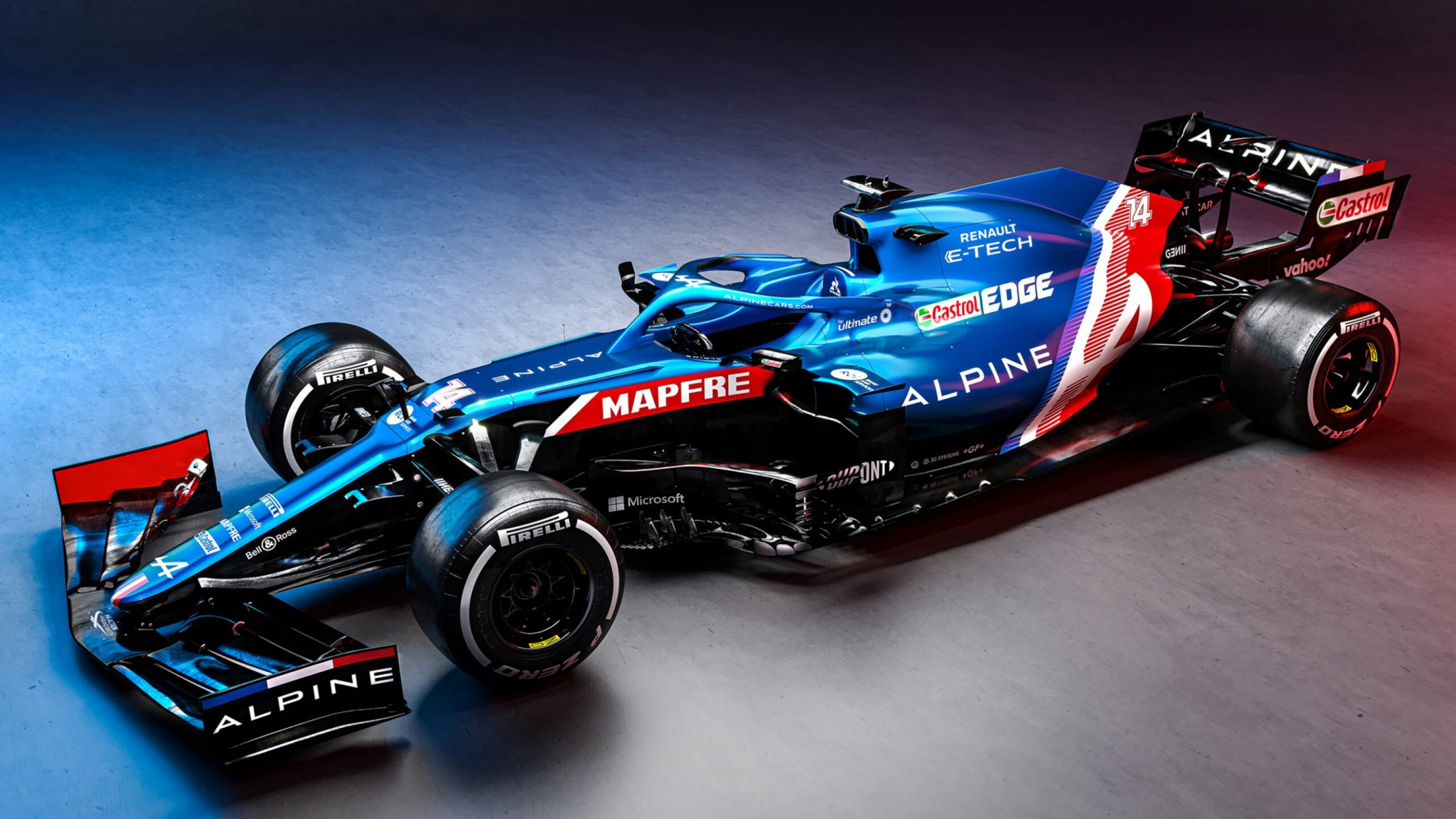 """Featured image for """"F1: Alpine reveal blue, white and red livery ahead of F1 season"""""""
