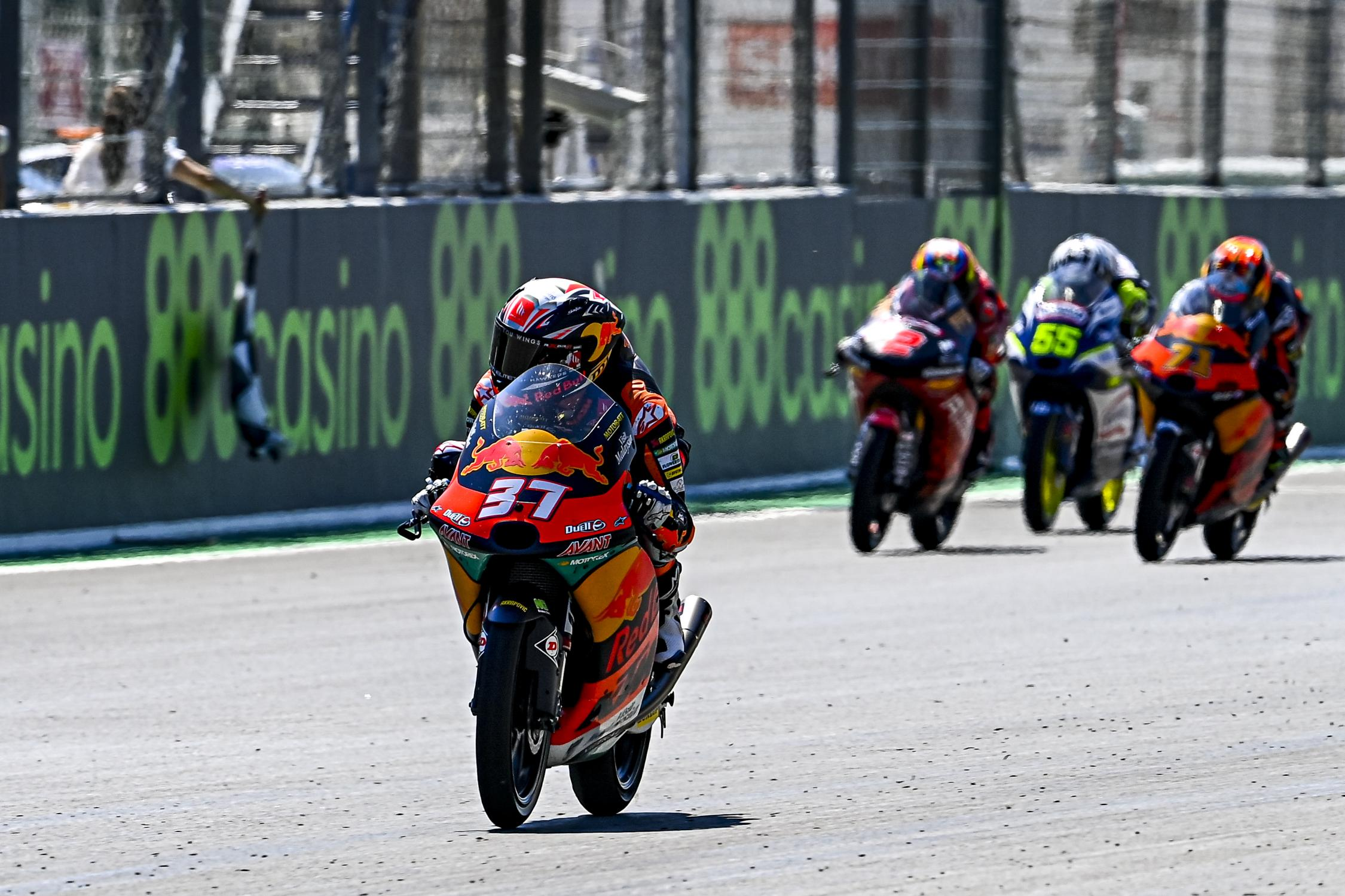 "Featured image for ""Moto3 : Rookie Pedro Acosta Looks to Continue Form and Storm Jerez"""