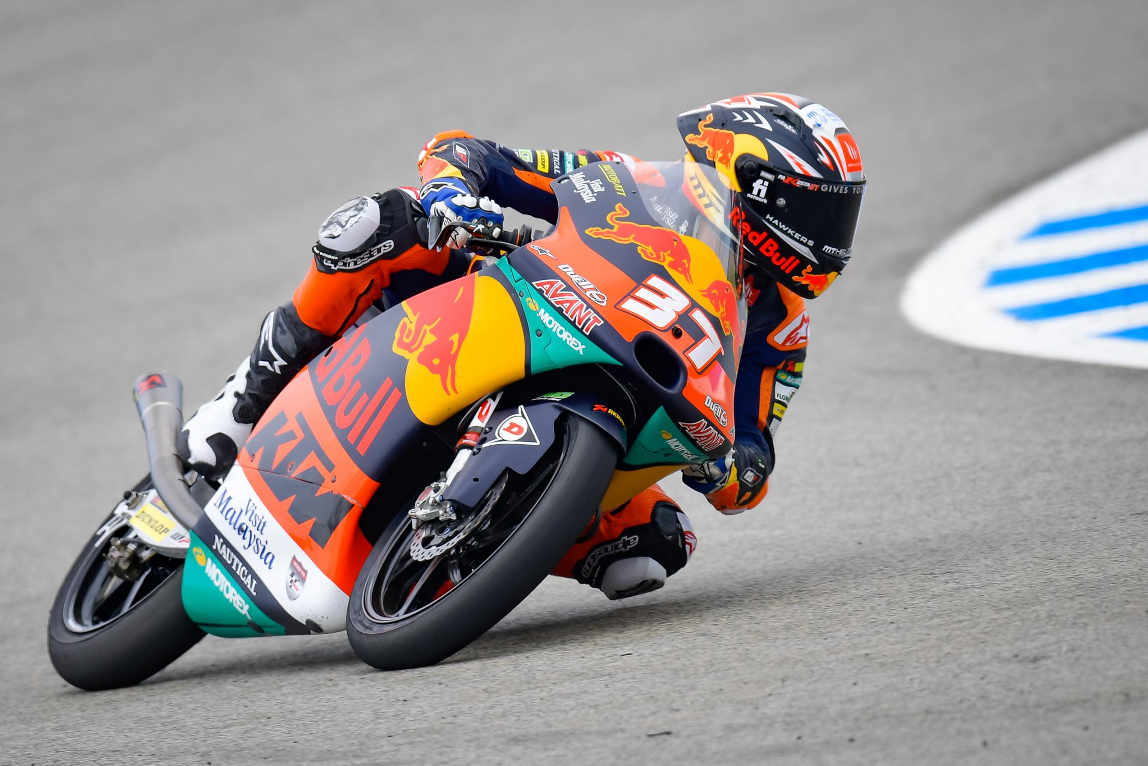 "Featured image for ""Moto3: Pedro Acosta Avoids Last Corner Drama to Take Another Win"""