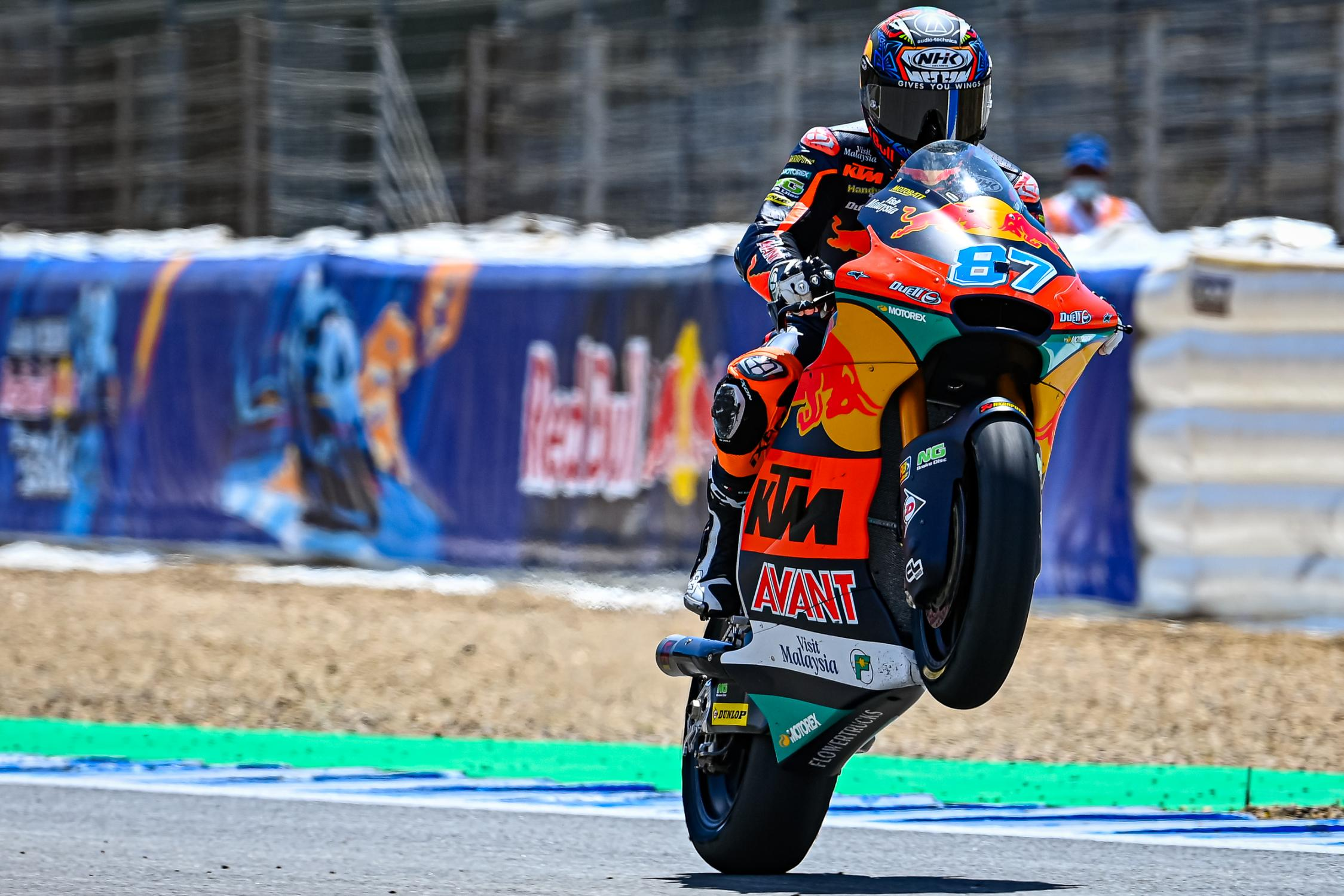 """Featured image for """"Moto2: Remy Gardner Breaks Lap Record to Top Free Practice Three"""""""