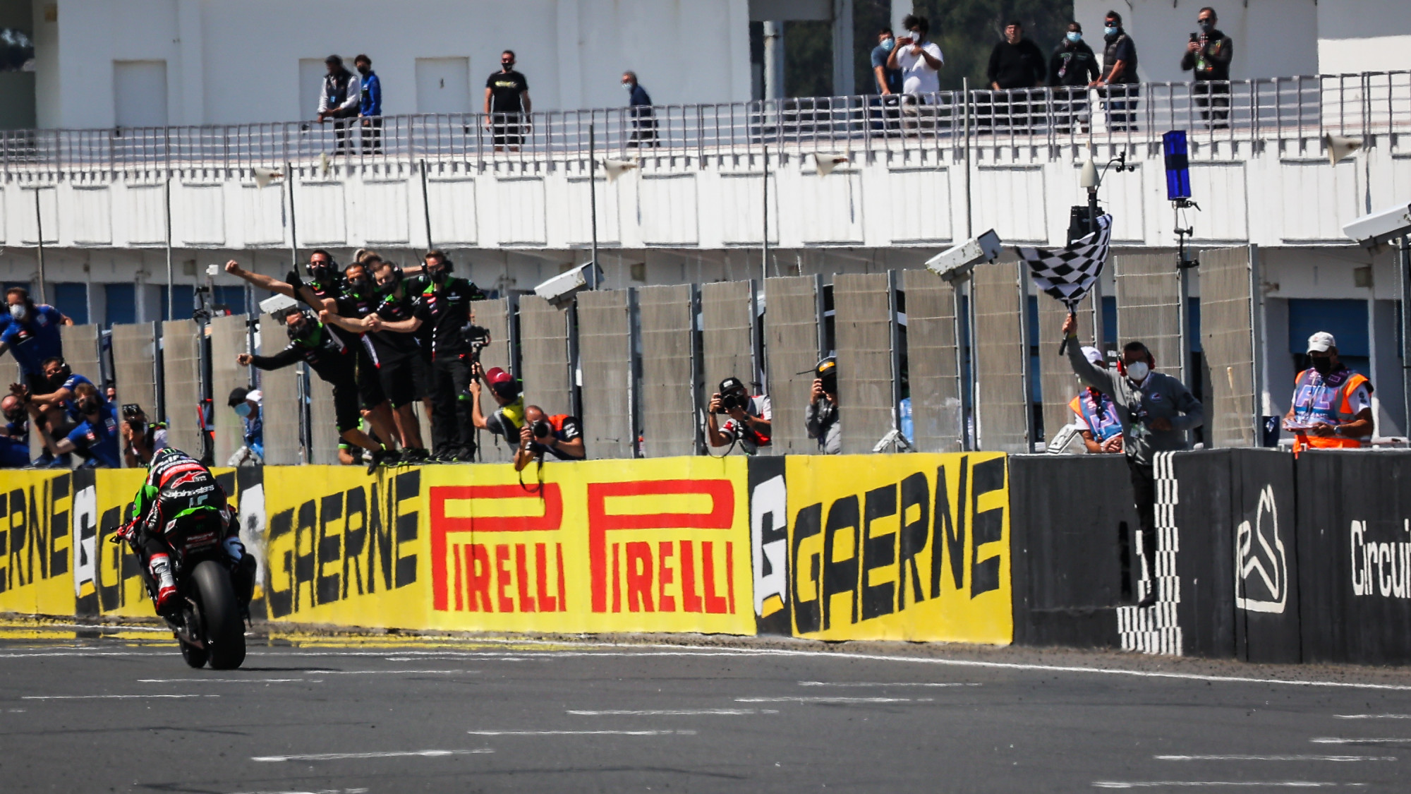 """Featured image for """"WSBK: Jonathan Rea Wins The Sprint Race At Estoril."""""""