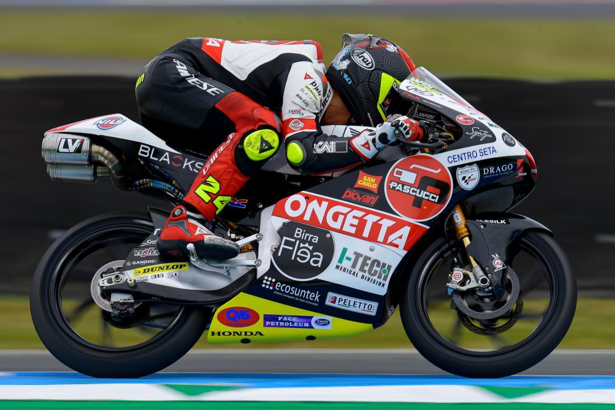 "Featured image for ""Moto3: Tatsuki Suzuki on top going into Qualifying"""