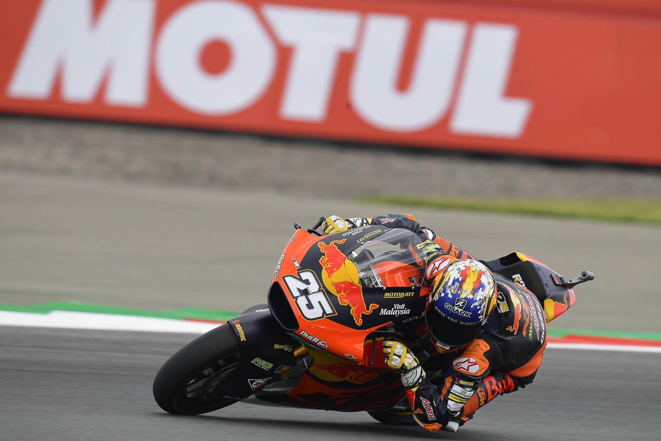 "Featured image for ""Moto 2: Raul Fernandez Tops Combined Standings in Assen"""