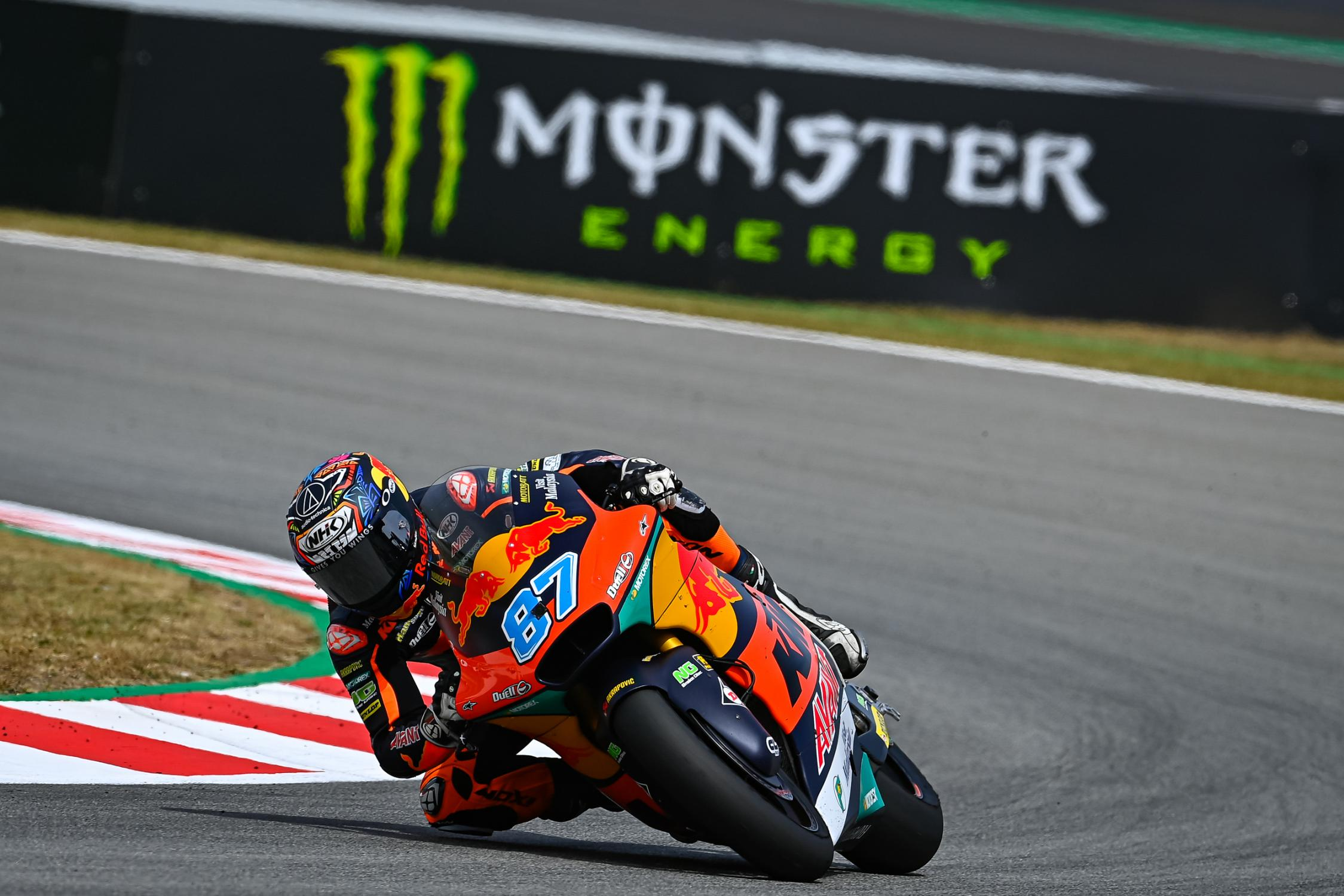 """Featured image for """"Moto2: Remy Gardner Tops Combined Standings in Catalunya"""""""