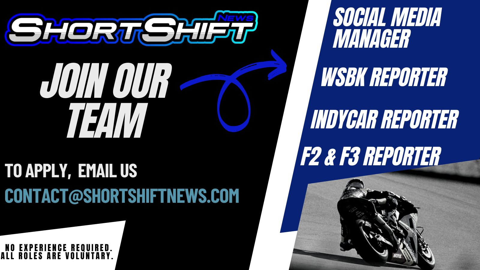 """Featured image for """"Join Our Team: Short Shift News Are Looking For New Team Members"""""""
