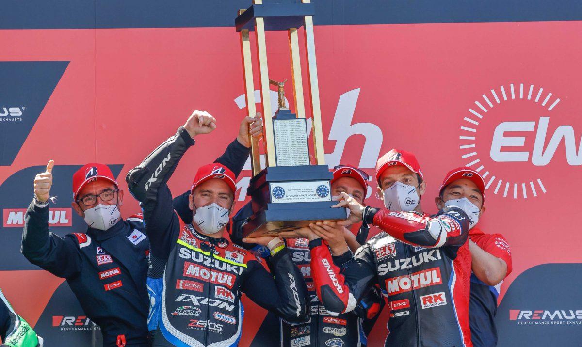 "Featured image for ""EWC: SERT Suzuki Dominate to 24 Heures Motos Victory"""