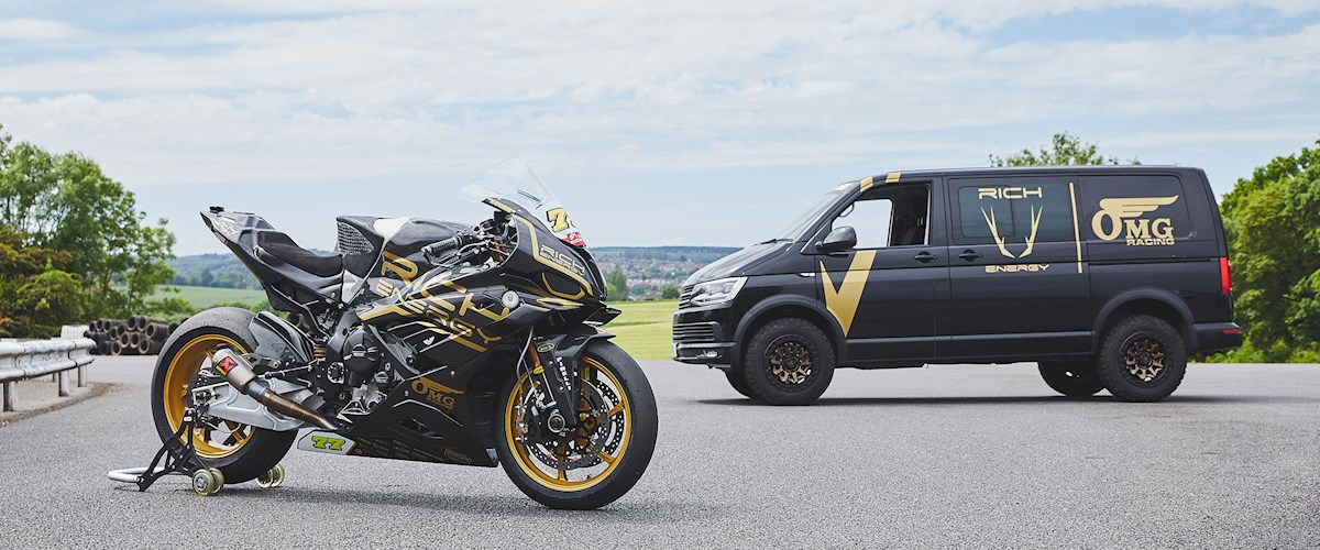 """Featured image for """"BSB: RICH Energy OMG Racing BMW Unveil Their 2021 Season Livery."""""""