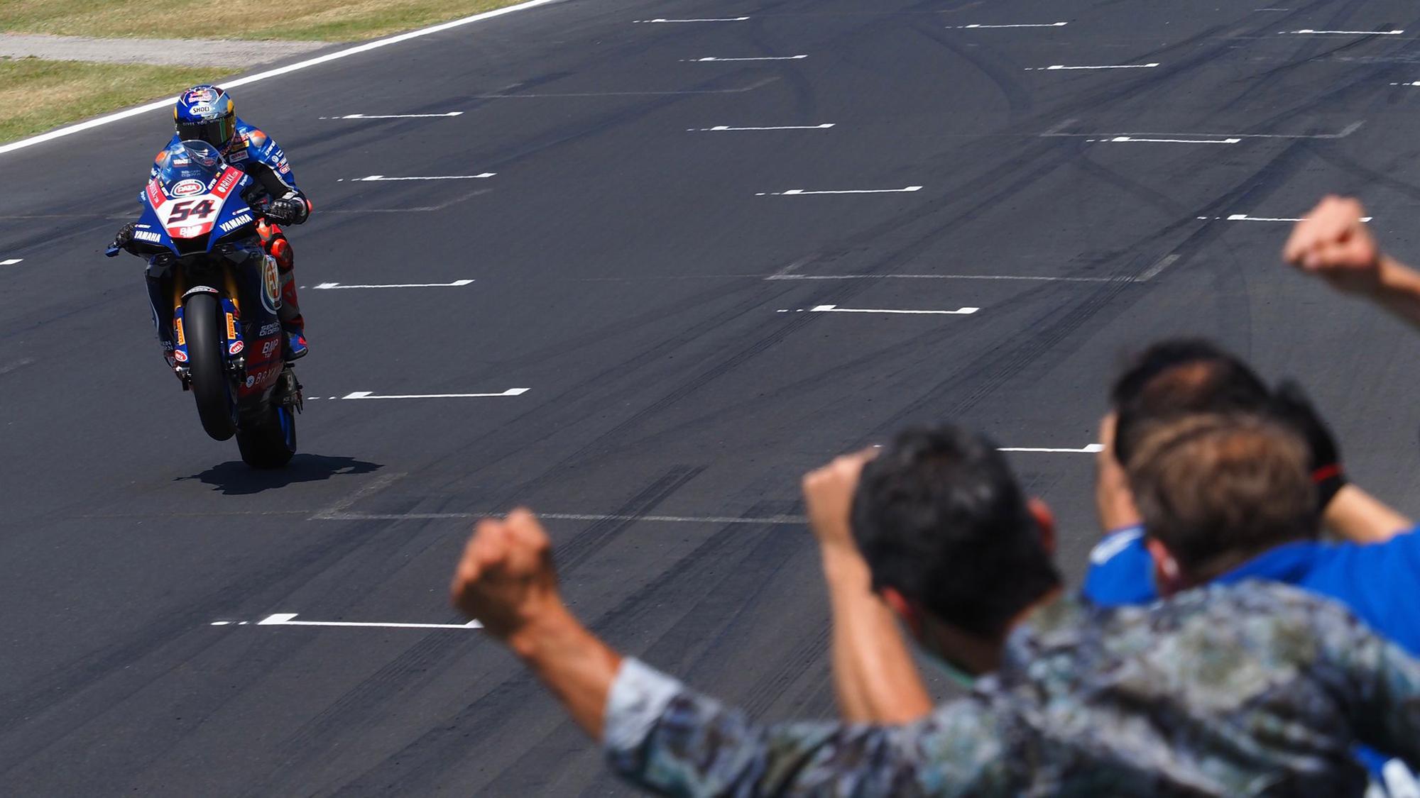 "Featured image for ""WSBK: Toprak Razgatlioglu wins Race Two"""