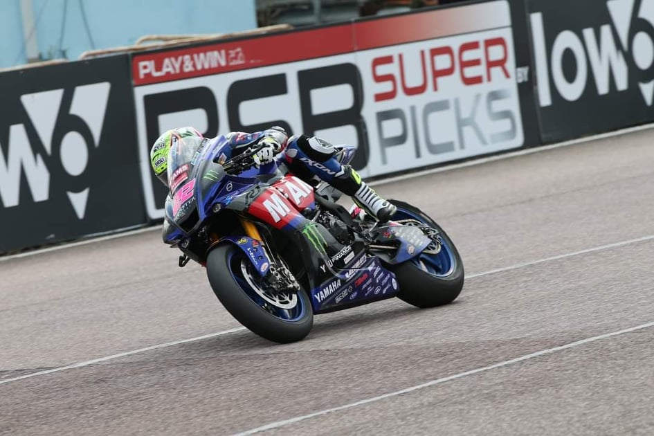 """Featured image for """"BSB: McAMS Yamaha's Jason O'Halloran Takes His Third Pole Position Of The Season At Thruxton."""""""
