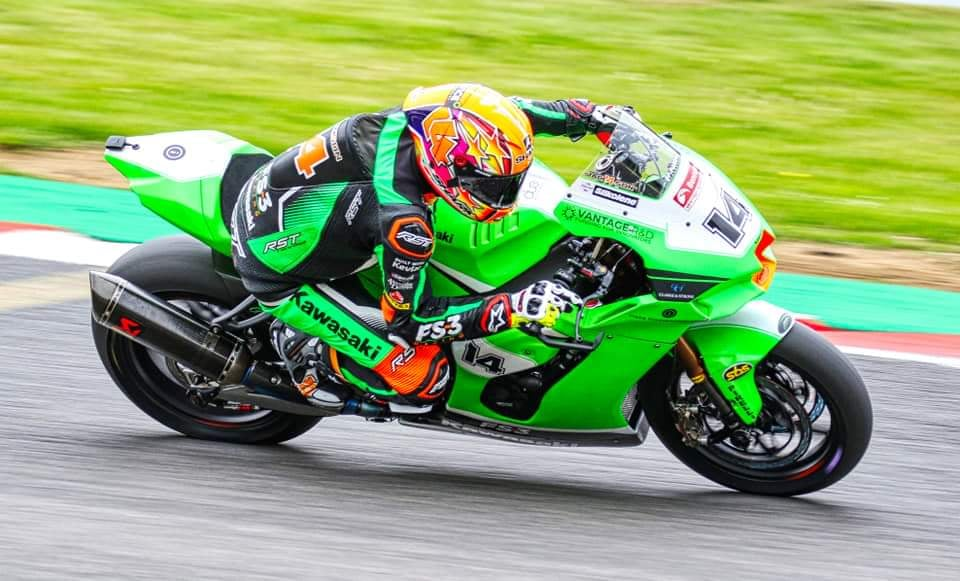"""Featured image for """"BSB: Lee Jackson Tops The Time Sheets In A Wet Free Practice One At Thruxton."""""""