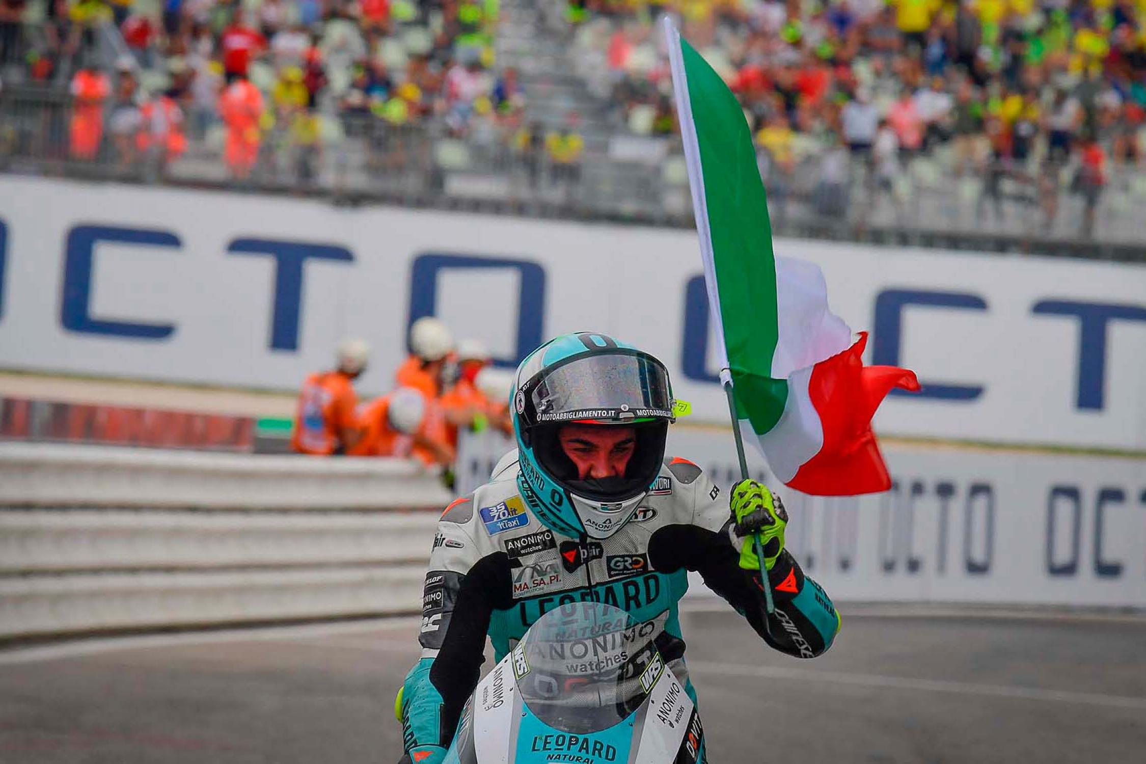 """Featured image for """"Moto 3: Dennis Foggia Wins the San Marino Grand Prix"""""""