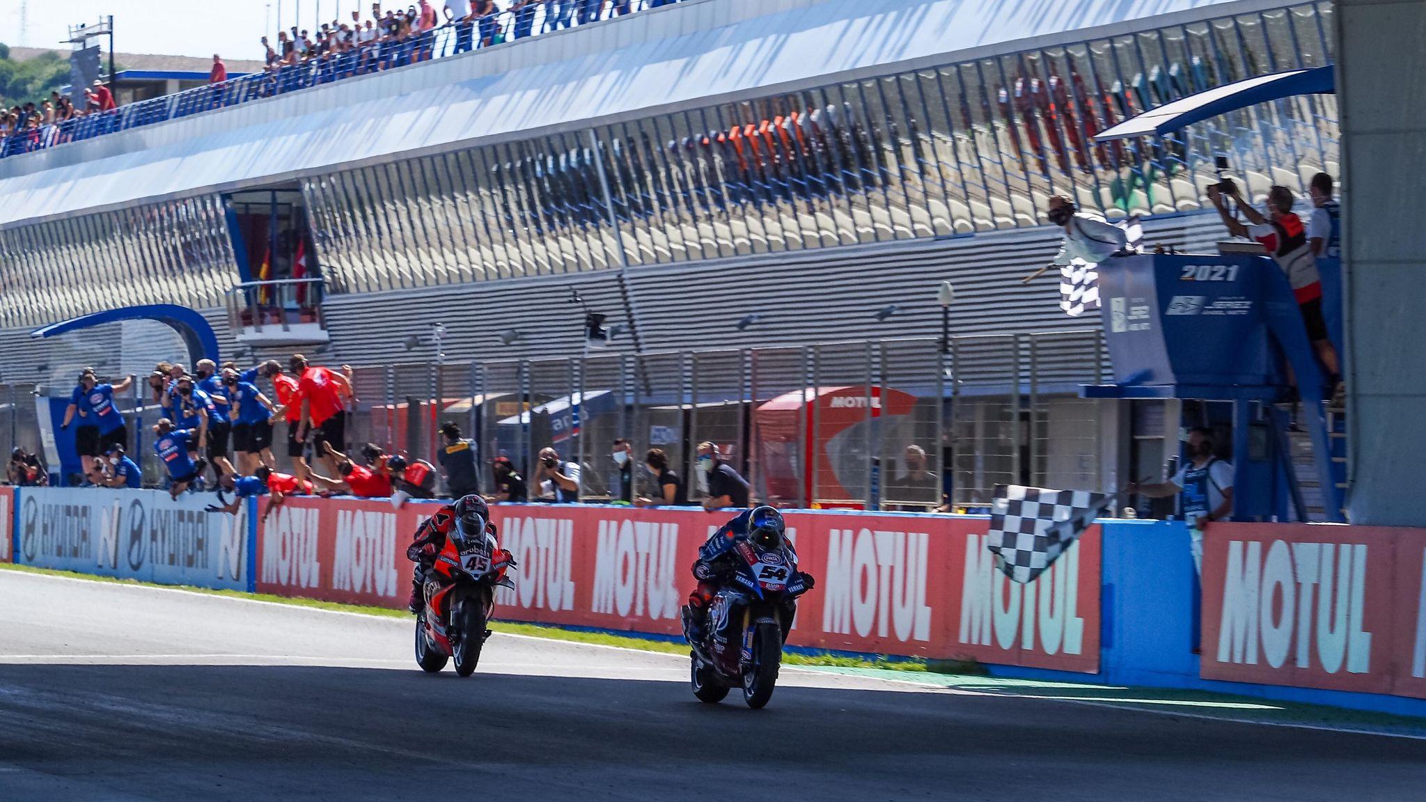 "Featured image for ""WSBK: Toprak Razgatlioglu Wins Race Two at Jerez"""