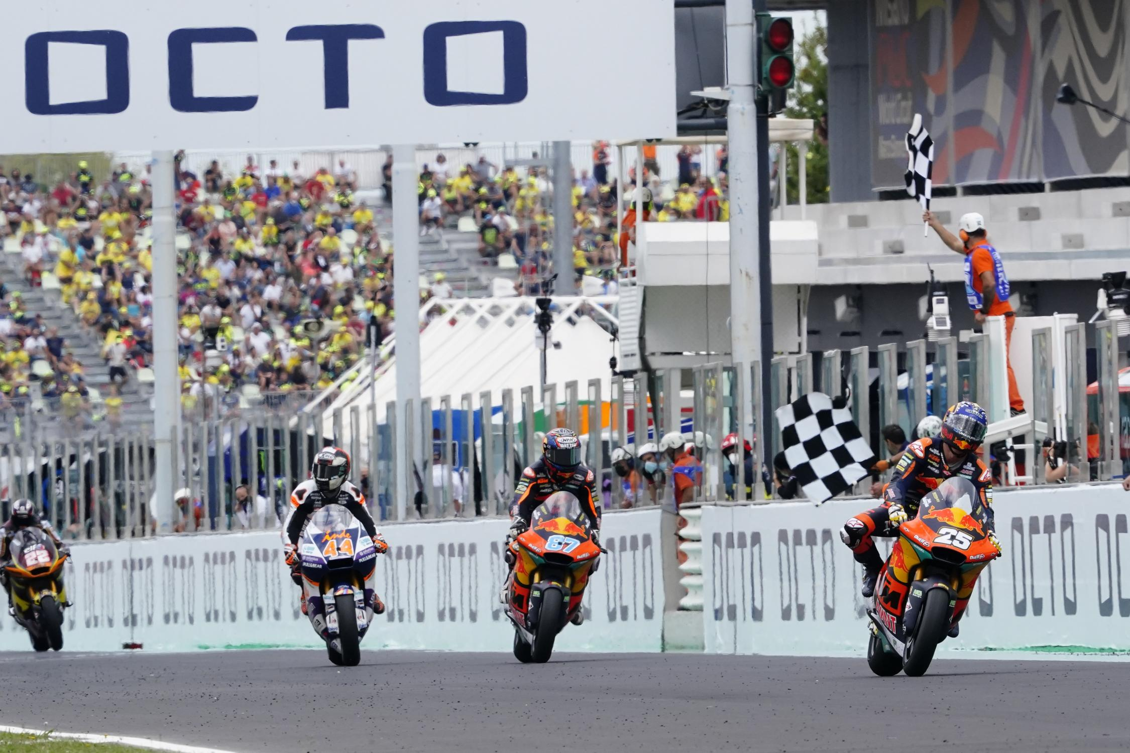"""Featured image for """"Moto 2: Raul Fernandez Takes Victory at the San Marino Grand Prix"""""""