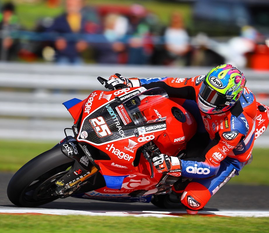 """Featured image for """"BSB: Josh Brookes Tops The Time Sheet At The End Of Day One At Oulton Park."""""""