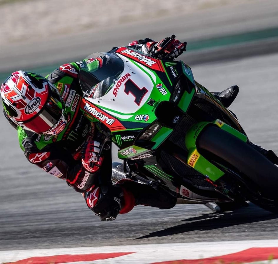"""Featured image for """"WSBK:  Jonathan Rea Takes Victory In The Action Packed Superpole Race At Catalunya."""""""