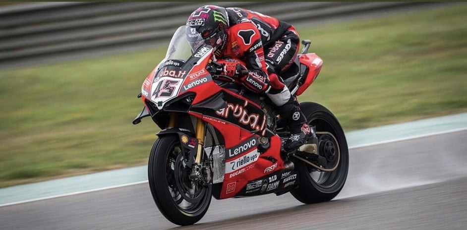 """Featured image for """"WSBK:  Ducati's Scott Redding Wins A Dramatic Race One At Catalunya."""""""