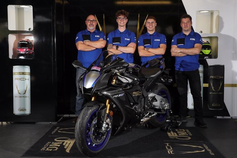 """Featured image for """"BSB: RICH Energy OMG Racing Switch To Yamaha For Their 2022 Season Campaign With Brad Ray And Kyle Ryde."""""""