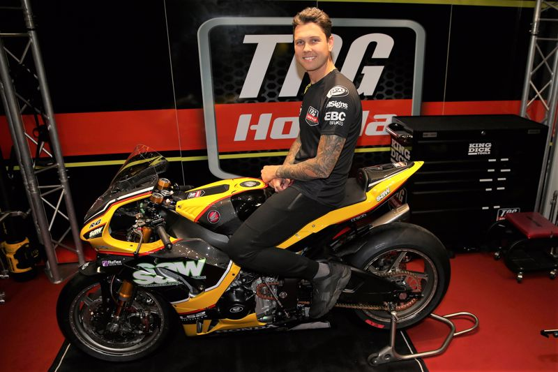 """Featured image for """"BSB: Luke Mossey Signs One-Year-Deal With TAG Racing Honda For The 2022 Bennetts British Superbike Season."""""""